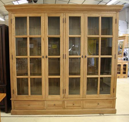 Les meubles neufs vendus - Bibliotheque porte coulissante ...