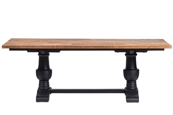 table_style_chateau_pieds_noirs_plateau_teck