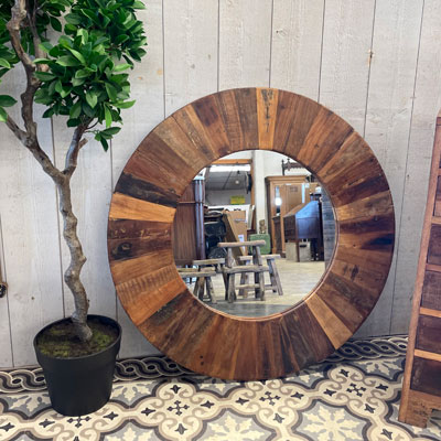 miroir_rond_bois_recycle
